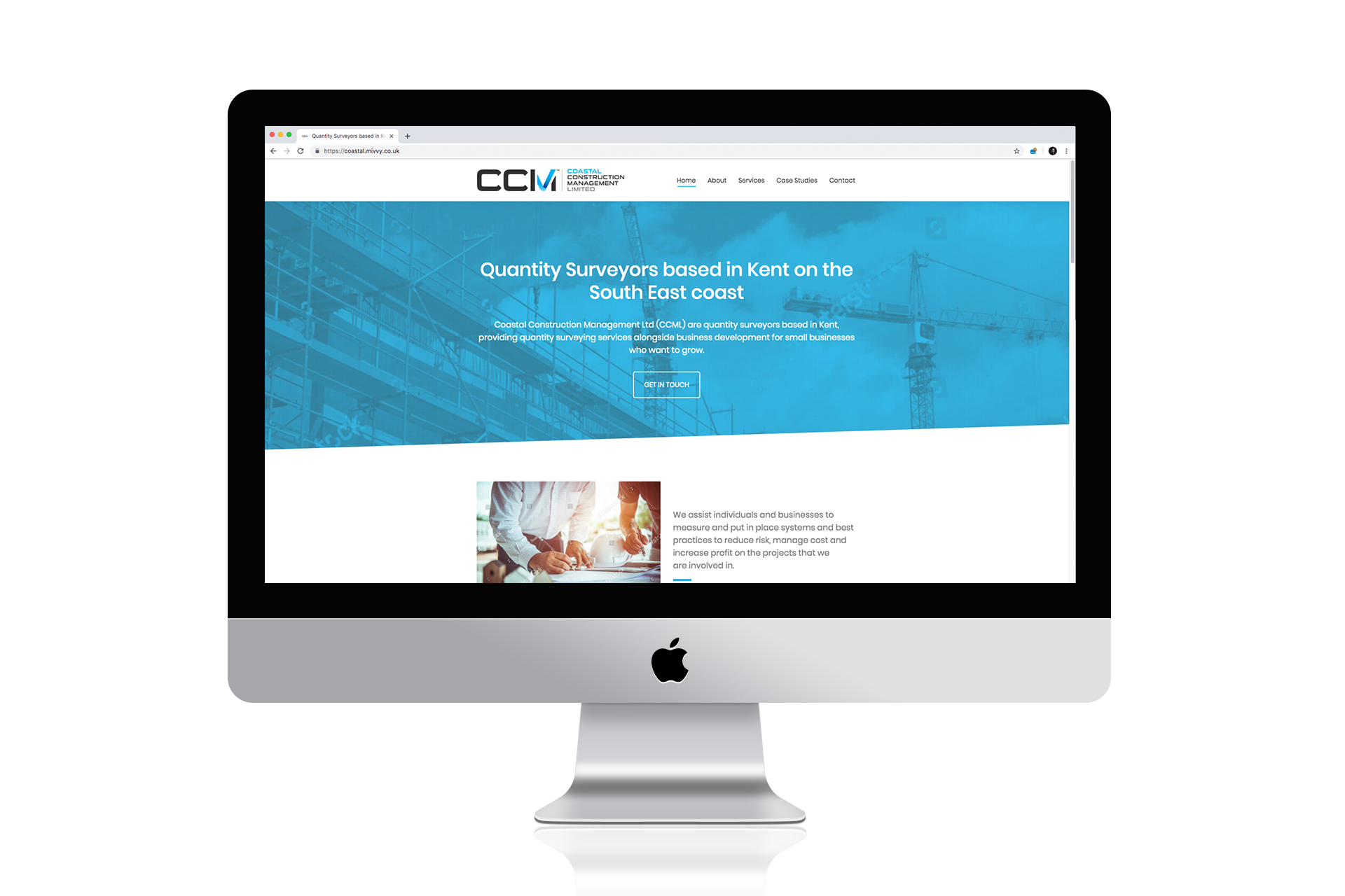Website Design and Copywriting - Coastal Construction